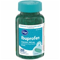 Kroger® Ibuprofen Pain Reliever Softgels 200mg 200 Count