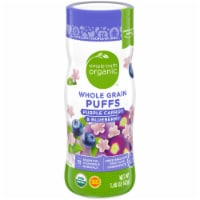 Simple Truth Organic™ Purple Carrot & Blueberry Whole Grain Puffs
