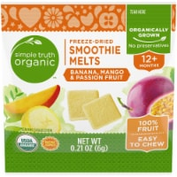 Simple Truth Organic™ Banana Mango & Passion Fruit Smoothie Melts