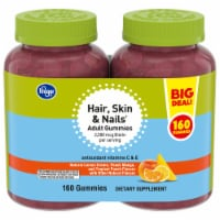 Kroger® Hair Skin & Nails Adult Gummies Twin Pack