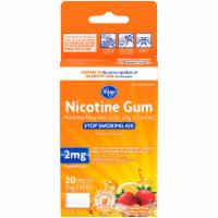 Kroger® Nicotine 2mg Coated Fruit Wave Gum