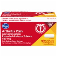 Kroger® Extended Release Arthritis Pain Relief Caplets 650mg