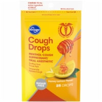 Kroger® Honey Lemon Sugar Free Cough Drops
