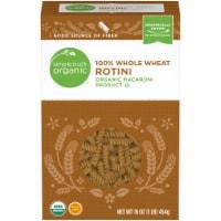 Simple Truth Organic™ 100% Whole Wheat Rotini Pasta