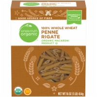 Simple Truth Organic™ 100% Whole Wheat Penne Rigate Pasta