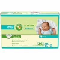 Comforts Newborn Diapers 36 Count