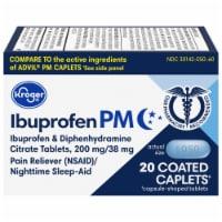 Kroger® Ibuprofen PM Coated Caplets