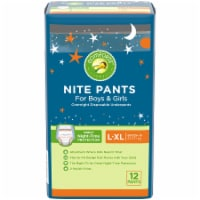 Comforts™ Nite Pants L-XL Boys & Girls Overnight Disposable Underpants