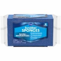Kroger® Scrubber Sponge - 3 pk - Blue
