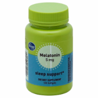 Kroger® Melatonin 5 mg Sleep Support Softgels