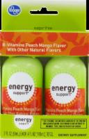 Kroger Peach Mango Energy Shots