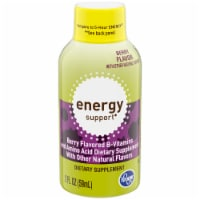 Kroger® Berry Flavor Energy Support Dietary Supplement Bottle