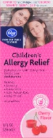 Kroger® Cherry Flavored Children's Allergy Liquid Antihistamine