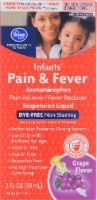 Kroger® Infants' Dye-Free Pain & Fever Suspension Liquid