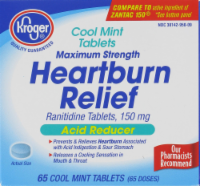 Kroger® Cool Mint Acid Relief Heartburn Relief Tablets