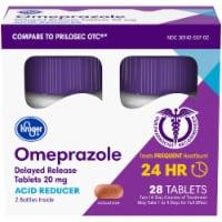 Kroger® Omeprazole Acid Reducer Delayed Release Tablets 20mg