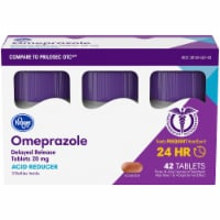 Kroger® Omeprazole Acid Reducer Delayed Release Tablets 20mg