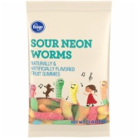 Kroger® Sour Neon Gummy Worms