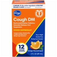 Kroger® Cough DM Orange Flavor Liquid Cough Suppressant