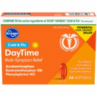 Kroger® Non-Drowsy Daytime Cold & Flu Softgels