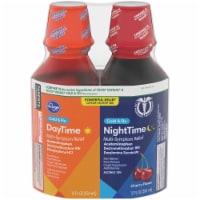 Kroger® DayTime & NightTime Cherry Cold & Flu Relief Liquid