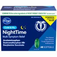 Kroger® NightTime Cold & Flu Relief Softgels