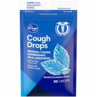 Kroger® Menthol Eucalyptus Flavor Cough Drops 30 Count