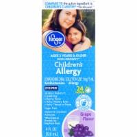 Kroger® Grape Flavor Children's Allergy Relief Liquid