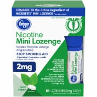 Kroger® Mint Mini Nicotine Lozenges 2mg