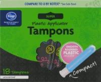 Kroger® Unscented Super Tampons