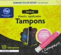 Kroger® Unscented Regular Tampons