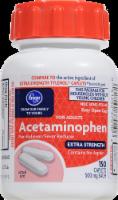 Kroger® Easy Open Extra Strength Acetaminophen Caplets 500mg - 150 ct