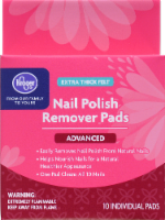 Kroger® Extra Thick Felt Advanced Nail Polish Remover Pads