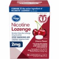 Kroger® Cherry Flavor Nicotine Lozenges 2mg