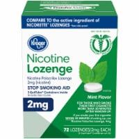 Kroger® Mint Flavor Nicotine Lozenges 2mg