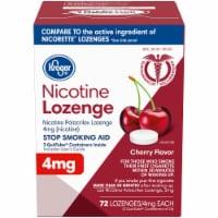 Kroger® Cherry Flavor Nicotine Lozenges 4 mg