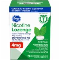 Kroger® Mint Flavor Nicotine Lozenges 4mg