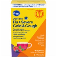 Kroger® DayTime Flu And Severe Cold And Cough Berry Flavor Packets