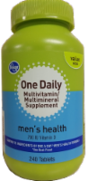 Kroger® One Daily Men's Health Multivitamin/Multimineral Supplement Tablets
