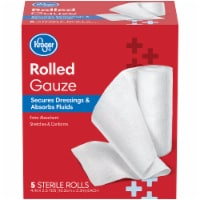 Kroger® Rolled Gauze 5 Count