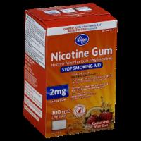 Kroger® Coated Fruit Wave Nicotine Gum 2 Mg