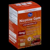 Kroger® Coated Fruit Wave Nicotine Gum 4 Mg