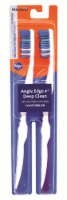 Kroger Angle Edge + Deep Clean Medium Toothbrush