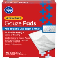 Kroger® Antibacterial 2 inch x 2 inch Gauze Pads Box