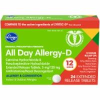 Kroger® Allergy Relief Medicine - 24 ct