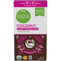 Simple Truth Organic™ Coconut 54% Cacao Dark Chocolate Bar