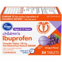 Kroger® Junior Strength Grape Ibuprofen Chewable Tablets