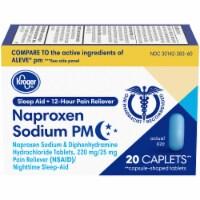 Kroger® Naproxen Sodium PM Pain Reliever Plus Sleep Aid Caplets - 20 ct
