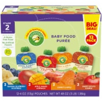 Comforts Stage 2 Baby Food Puree Pouches Variety Pack