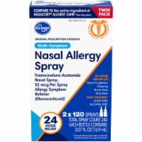 Kroger® 24 Hour Nasal Allergy Spray Twin Pack